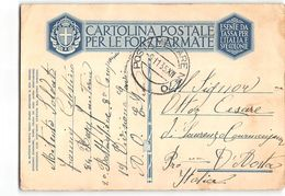15769 POSTA MILITARE 70 - 84 REGG. FANTERIA X LAURENZO COURMAJEUR - 1900-44 Vittorio Emanuele III
