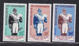 DAHOMEY N°  199 à 201 ** MNH Neufs Sans Charnière, TB  (D3460) Toussaint Louverture - Benin - Dahomey (1960-...)