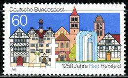 BRD - Michel 1271 - ** Postfrisch (B) - 60Pf   Bad Hersfeld - [7] République Fédérale