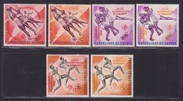 GUINEE N°  171 à 176 ** MNH Neufs Sans Charnière, TB  (D3467) Sports, Jeux Olympiques - Guinée (1958-...)