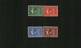 INDIA - KGVI - 1949 - UPU - 4 Stamps - LMM - India