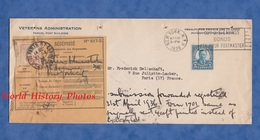 Enveloppe Ancienne - 1936 - Veterans Administration New York N.Y. - Récépissé - Bonds - Stamp Roosevelt 5 Cents - United States