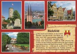 Ansichtskarte, Chronikkarte Mit Wappen Von Bielefeld - Bielefeld