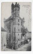 (RECTO / VERSO) LUXEUIL EN 1903 - LA TOUR ET BEFFROI - PLI ANGLE HAUT A GAUCHE - CPA VOYAGEE - Luxeuil Les Bains