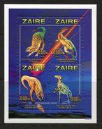 Congo- Zaire**DINOSAURIER-KB 4Mkn-Cat 15€-1996-DINOSAURS - Zaire