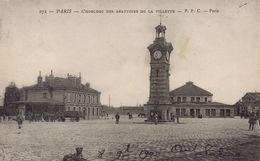 PARIS 19EME : L'Horloge Des Abattoirs De La Villette - Arrondissement: 19