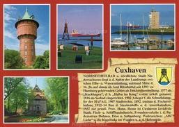 Ansichtskarte, Chronikkarte Mit Wappen Von Cuxhaven - Cuxhaven
