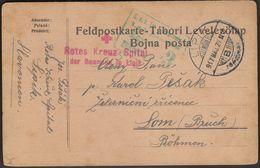 Hungary Lipik Croatia 1917 / KuK Militarzensur Zagreb 3, Army Censorship / Red Cross Hospital - Hungría
