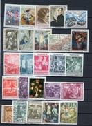 C 091  -  Monaco  :  Lcollection Des Tableaux Grand Format  ** ,  Cote:226 € - Collections, Lots & Séries