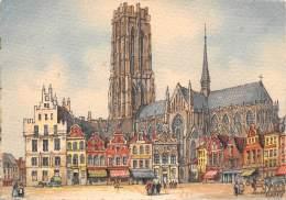 CPM - MECHELEN - Hoofdkerk St-Rombout - Malines