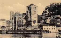 """HUY - La Collégiale Notre-Dame (XIVe), Style Gothique, Et La """"Rondia"""" - Huy"""
