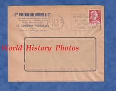 Enveloppe Commerciale Ancienne - LE CHESNAY / VERSAILLES - Etablissements PUTEAUX DELHOMME - Flamme / Cachet - France