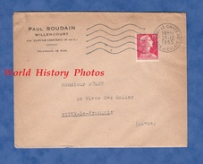 Enveloppe Commerciale Ancienne - WILLENCOURT Par AUXI Le CHATEAU ( Pas De Calais ) - Maison Paul SOUDAIN - 1955 - France