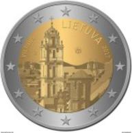 Lituania 2euro Cc - Vilna Capital Da Cultura - 2017  UNC - Lituanie