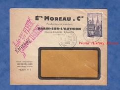 Enveloppe Commerciale Ancienne - BRAIN Sur L' AUTHION ( Maine Et Loire ) - Etablissements MOREAU & Cie -  1955 - France