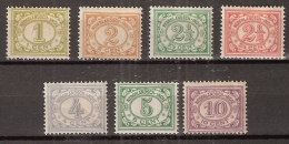 Ned Indie 1912 Cijfers Ongestempeld/MH/* - Nederlands-Indië
