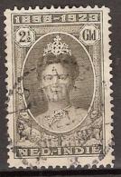 Ned Indie 1923 Jubilee 2,50 GLD Cancelled/gestempeld - Nederlands-Indië
