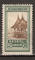 Ned Indie 1930 Jeugdzorgzegels NVPH 168 Ongestempeld - Nederlands-Indië