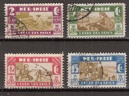 Ned Indie 1932 Salvation Army - Leger Des Heils NVPH 176-179 Gestempeld/cancelled - Indes Néerlandaises