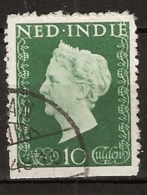 Ned Indie 1948 10 Gld NVPH 345 Gestempeld/ Cancelled - Nederlands-Indië