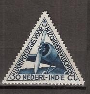 Ned Indie 1933 Luchtpost. NVPH L18  Ongestempeld/MH/* - Indes Néerlandaises