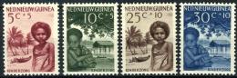 Nederlands Nieuw Guinea 1957, Kind NVPH 45-48 MH*/ongestempeld,hinged - Nuova Guinea Olandese