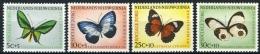 Nederlands Nieuw Guinea 1960, Butterflies, Vlinders, Papillon, Schmetterlinge NVPH 63-66 MNH**/Postfrisch - Nuova Guinea Olandese