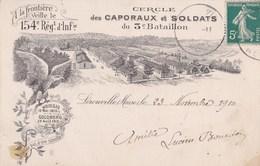 Carte-postale  : Lerouville  (55) Litho   Cercle Des Caporaux Et Soldats Du 3 ème Bataillon   154 RI     TBE - Lerouville