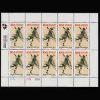 SOUTH AFRICA 1995 - Scott# 920 Sheet-World Post Day MNH - Südafrika (1961-...)