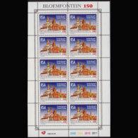 SOUTH AFRICA 1996 - Scott# 935a Sheet-Bioemfontein MNH - Südafrika (1961-...)