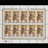 SOUTH AFRICA 1996 - Scott# 951 Sheet-Women Day MNH - Südafrika (1961-...)