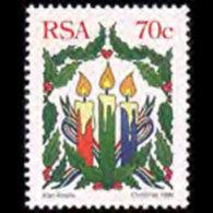 RSA 1996 - Scott# 953 Christmas-Candles Set Of 1 MNH - Südafrika (1961-...)