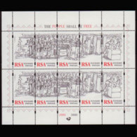 SOUTH AFRICA 1997 - Scott# 972B Sheet-Elections MNH - Südafrika (1961-...)