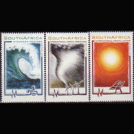 RSA 2005 - Scott# 1350-2 Energy Sources Set Of 3 MNH - Unused Stamps
