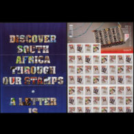SOUTH AFRICA 2010 - Scott# 1449A Booklet-Beadworks MNH - Afrique Du Sud (1961-...)