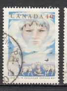 Canada, Ours Polaire, Polar Bear, Loup, Wolf, Légende, Legendary, Orphelin, Orphan, Indiens D'amérique, Amérindien, - Briefmarken