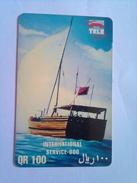 100 QR  Boat - Qatar
