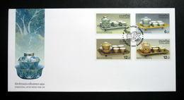Thailand Stamp FDC 2000 International Letter Writing Week - Tea Set - Thailand