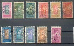 DAH 280 - YT 85-86-87-90-91-92-94-95-96-97 ° Obli - Dahome (1899-1944)