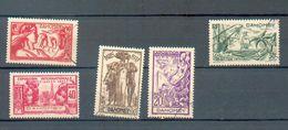 DAH 281 - YT 103 à 108 ° Obli - Dahome (1899-1944)