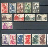 DAH 283 - YT 120 à 125 / 127 à 130 / 132-135-136-138-139 ° Obli - Dahome (1899-1944)