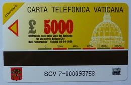 VATICAN - Urmet - SCV 7 - Pinacoteca Sacra Famiglia - 5000 Units - Mint - Vatican
