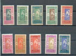 DAH 289 - YT 85 à 90 A - 92-93-97  * - Dahome (1899-1944)