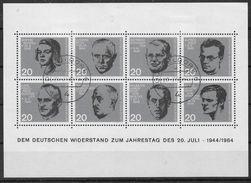 BRD 1964 / MiNr.  Block 3  Düsseldorf Falz  Scan_590     O / Used  (s309) - [7] Repubblica Federale