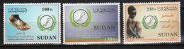 Sudan/Soudan  2002 Eradicate Guinea Worm From The World **MNH - Soudan (1954-...)