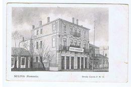 ROMANIA - SULINA - STRADA CAROLA I - HOTEL CAMBERI - 1910s (2322 ) - Roemenië