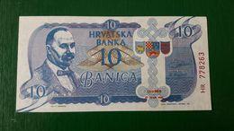CROATIA 10 Banica 1990 UNC Private Issue By Pukanic S. Radic - Croatie