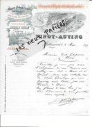 88 - Vosges - MATTAINCOURT - Facture VINOT-AUTING - Chaux Hydraulique, Ciment, Tuiles Et Briques - 1897 - REF 81D - 1900 – 1949
