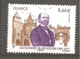 France.2014 Y T N °4842 Alexandre Glais Bizouin. Oblitéré - Used Stamps