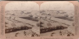 "THAT COSMOPOLITAN MART "" THE FAIR"" AT NIJNI-NOVGOROD RUSSIA 1898 - UNDERWOOD -                  TDA109 - Photos Stéréoscopiques"